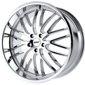 new 17x8 5x112 tsw snetterton chrome wheels rims check