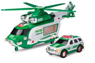 2012 Hess Toy Truck Helicopter Rescue and 2012 Mini Too Complete 2012