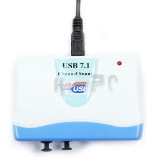 External 7 1 USB Sound Card Optical Audio Adapter Cable