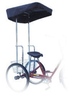 New Adult 3 Wheel Tricycle Bicycle Bike Canopy 45839