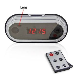 New Multi Functional Digital Electronic Alarm Clock Spy Camera DVR
