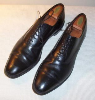 Allen Edmonds Park Avenue Mens Black Classic Style Dress Shoes 15 AA