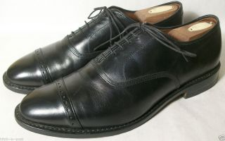 Allen Edmonds Park Avenue Oxford Black 9 D Medium $325
