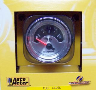 Auto Meter 1215 American Muscle Fuel Level Gauge