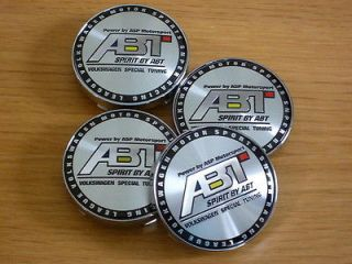 abt vw volkswagen alloy wheel centre cap badges time left