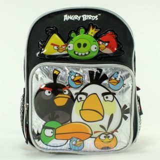 Rovio Angry Birds and King Pig 10 Small Toddler Backpack Boys Girls