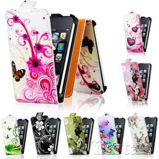 Flip Case Cover for Apple iPod Touch 4th Gen Screen Guard