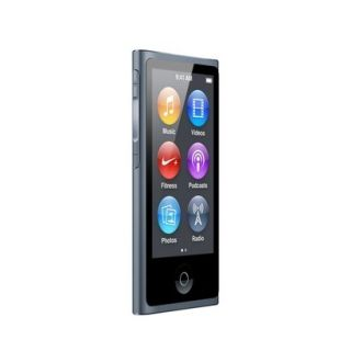 Apple iPod Nano 16GB Black Slate (7th Gen) Brand New touch screen