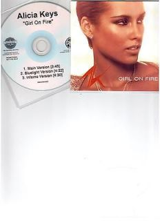 Newly listed ALICIA KEYS GIRL ON FIRE   BRAND NEW U.S 3 REMIX CD