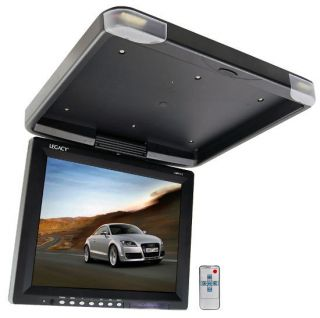 17 2 High Resolution LCD TFT Roof Mount Flip Down Car Monitor