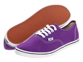 NEW WOMEN VANS AUTHENTIC LO PRO AMARANTH PURPLE WHITE SPECIAL PRICE SO