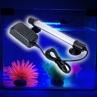 18 LED 7 inch Aquarium Fish Tank Blue LED Lights Bar