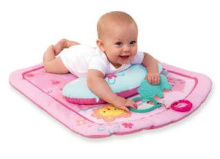 Starts Little Blooms Prop Play Mat Tummy Time Baby Girl Teether