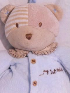 Carters My First Teddy Bear Baby Boy Musical Crib Toy