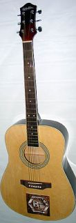 Bachman & Turner Autographed Signed Acoustic Guitar UACC RD COA