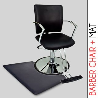 Hydraulic Barber Chair Styling Salon Beauty Anti Fatigue Comfort Floor