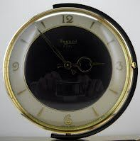 BAYARD SWIVELING CLOCK FRENCH ART DECO 1930