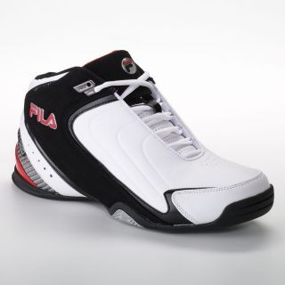 Fila Sport Rimshot Basketball Shoes Sz 12 Mens White Black