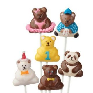 wilton 3d mini bear cake pops pan mold 2105 0545 new