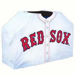Boston Red Sox Baseball Jersey BBQ Gas Grill Cover