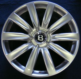 21 BENTLEY CONTINENTAL GTC WHEELS OEM GT RIMS NEW MULLINER FLYING SPUR
