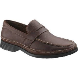 Hush Puppies Mens Expel Shoe Red Brown Leather H101595