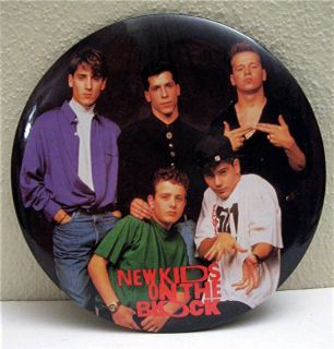 New Kids on The Block Big Rock Concert Band Pin Badge 2