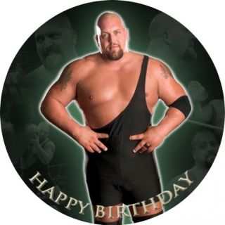 Big Show WWE Edible Image Cake Icing Topper Decoration