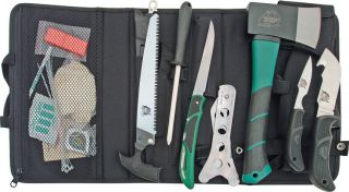 Outdoor Edge Knives Outpak Big Game Hunting Knife Set w Cordura Roll