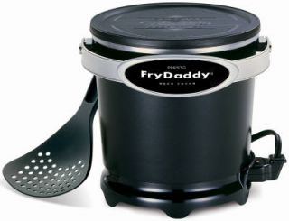 Presto Frydaddy 120V Electric Deep Fryer Makes Delicious Deep Fried