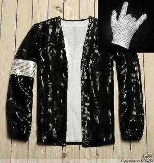 Michael Jackson Billie Jean Style Jacket Free Glove