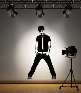 Billie Joe Armstrong Green Day Wall Art Sticker F006