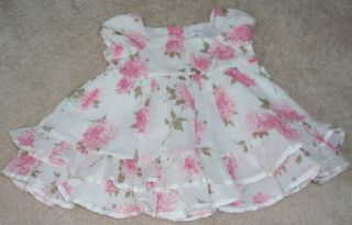 Girls Ralph Lauren Pink Dress Bloomies Size 3M