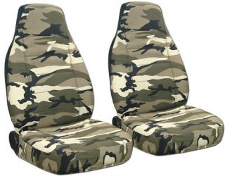 Chevy Blazer Car Seat Covers Camo Tan Beige Nice Cool