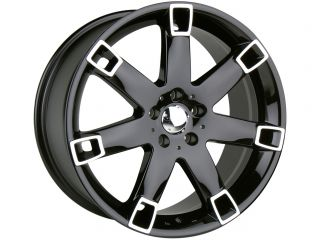 17 Black Wheels Rims Toyota Camry Honda Accord Nissan Maxima Altima