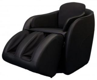NEW Omega Aires BLACK Hidden Legrest Full Body Massage Chair w/ Foot