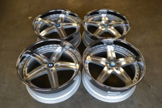 Wolff Staggered BMW Wheels Rims 22x9 5 22x10 5 7 Series 745 750