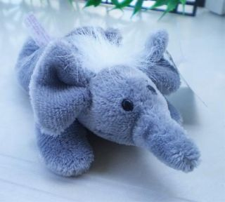 Lovely NICI Gray Elephant Fridge Magnet Stuffed Animals