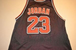 Vintage Michael Jordan Reversible Chicago Bulls Jersey Size 48 Worn In