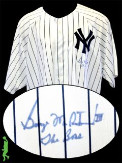 THE BOSS SIGNED AUTO NEW YORK YANKEES BASEBALL JERSEY COA