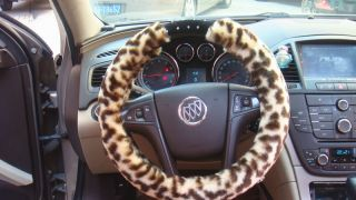 with Bling Rhinestone Engraved Car Soft Steering Wheel Cover