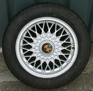 15 BBS EuroSpoke Alloy Wheel 7J 4x100 BMW E30 Z1 poss Mini Golf MX5