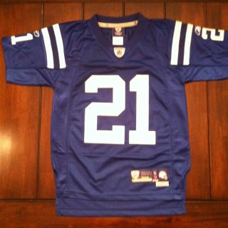 NFL Football Indianapolis Colts Bob Sanders Reebok Jersey Youth Small
