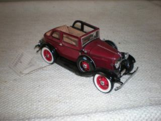 Ford Convert Sedan Bonnie Clyde Franklin Mint Precision Model