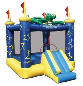 THE MAGIC DRAGON INFLATABLE BOUNCE HOUSE Bouncer Slide Air Blown Game