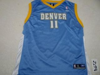 Denver Nuggets Jersey Earl Boykins Reebok Youth XL