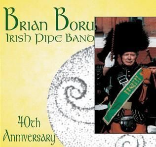 Brian Boru Irish Pipe Band CD Bagpipes Ceili Muisc