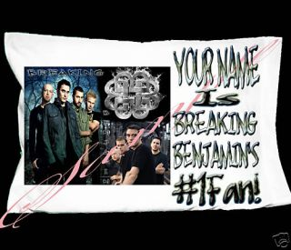Personalized Breaking Benjamin Pillowcase Pillow Case