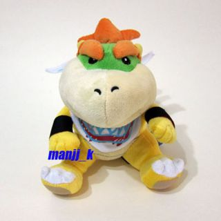 New Super Mario Plush Doll Figure 16cm Bowser Jr