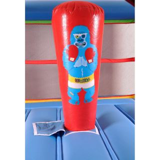 Boxing Ring (Small) Inflatable Bouncer Bounce House w/ Slide, Blower